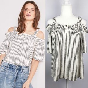 Lucky Brand | NWT New! Off Shoulder Stripe Top